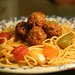 Spaghetti meatless balls :)