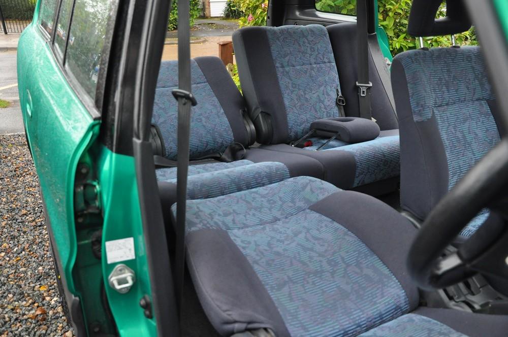 Toyota Rav4 2 0i Interior A 1998 Toyota Rav4 2 0i These
