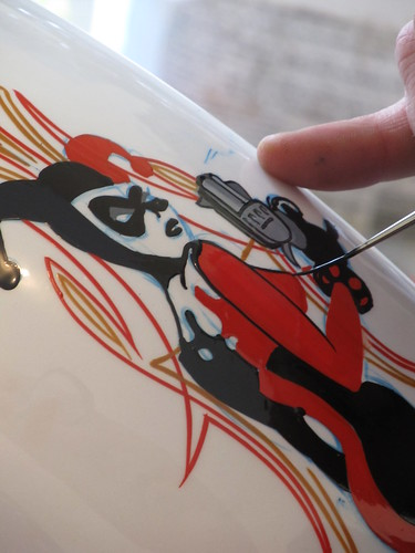 Harley Quin | by Kelly's Kustom Pinstriping