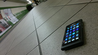 Nokia N9: Empty Underground | by whatleydude