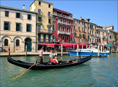 Venice : Gondola on the Grand Canal | by Pantchoa