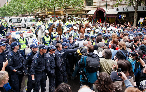 occupy melbourne | by Damien Loverso