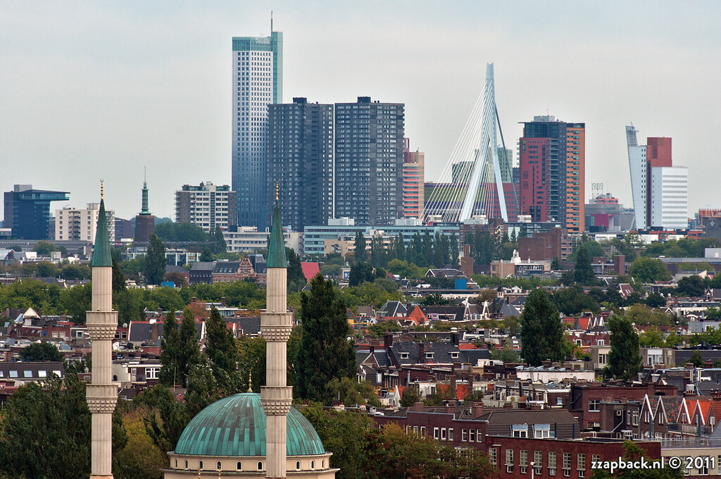 Twin Towers View From Van Nelle Rotterdam View On