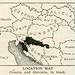 Location Map (Croatia and Slavonia, 1920)