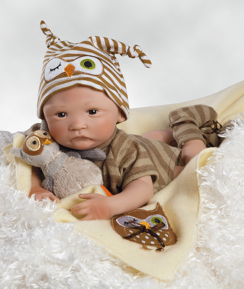 Baby Doll Hoot Hoot B Weighted Body For A Real Baby