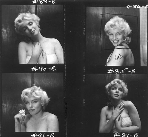 Marilyn Monroe contact sheet, 1956 | by bohemea