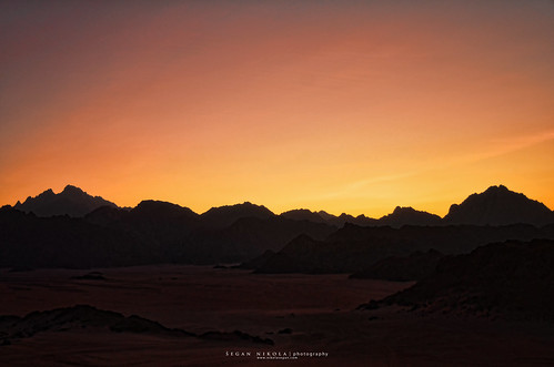 Eastern sahara sunset | by Nikola Segan