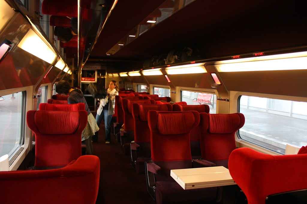 Thalys, first class | Michal Sänger | Flickr