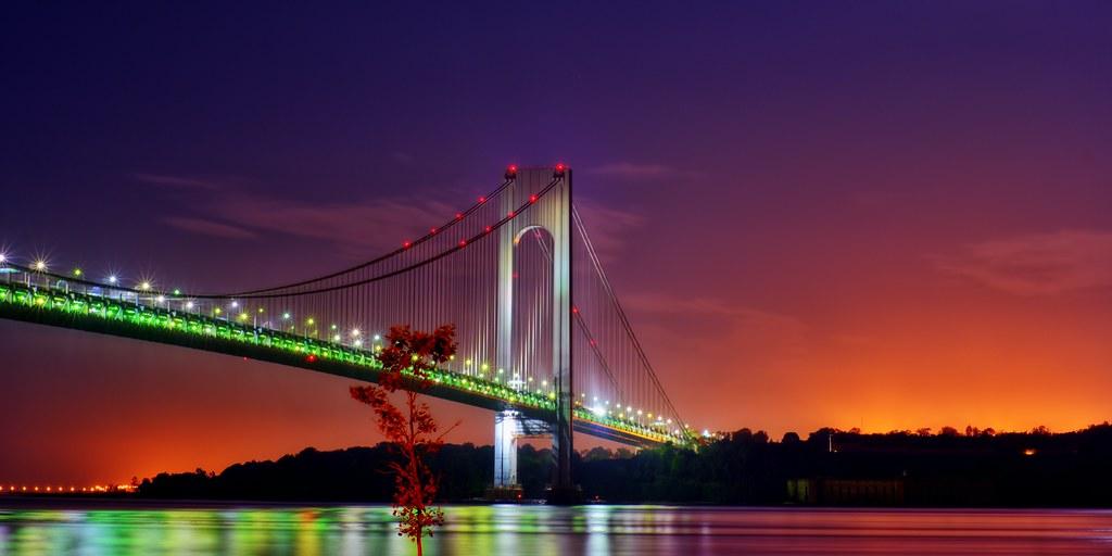 Verrazano Narrows Bridge, New York City | © 2011 Steve ...