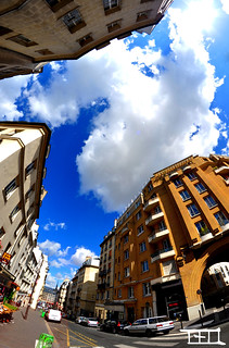 Paris with a FishEye - Teo Morabito | by Teo Morabito
