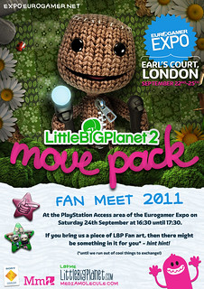 LittleBigPlanet Fan Meet 2011 at Eurogamer Expo | by mediamolecule