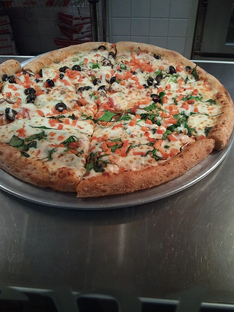 California Pizza Kitchen Five Cheese Fresh Tomato