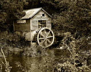Hyde's Mill - Monochrome | by NikonD3xuser1(Thanks for 1.3 million visits)
