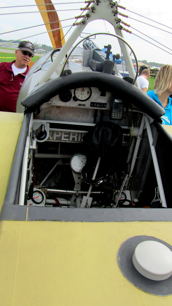 Fokker E.III Eindecker cockpit | WWI Dawn Patrol ...