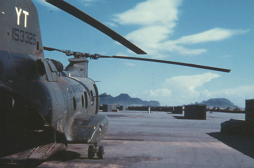 Hmm 164 Ch 46 Sits On Flightline At Marble Mountain Air Ba