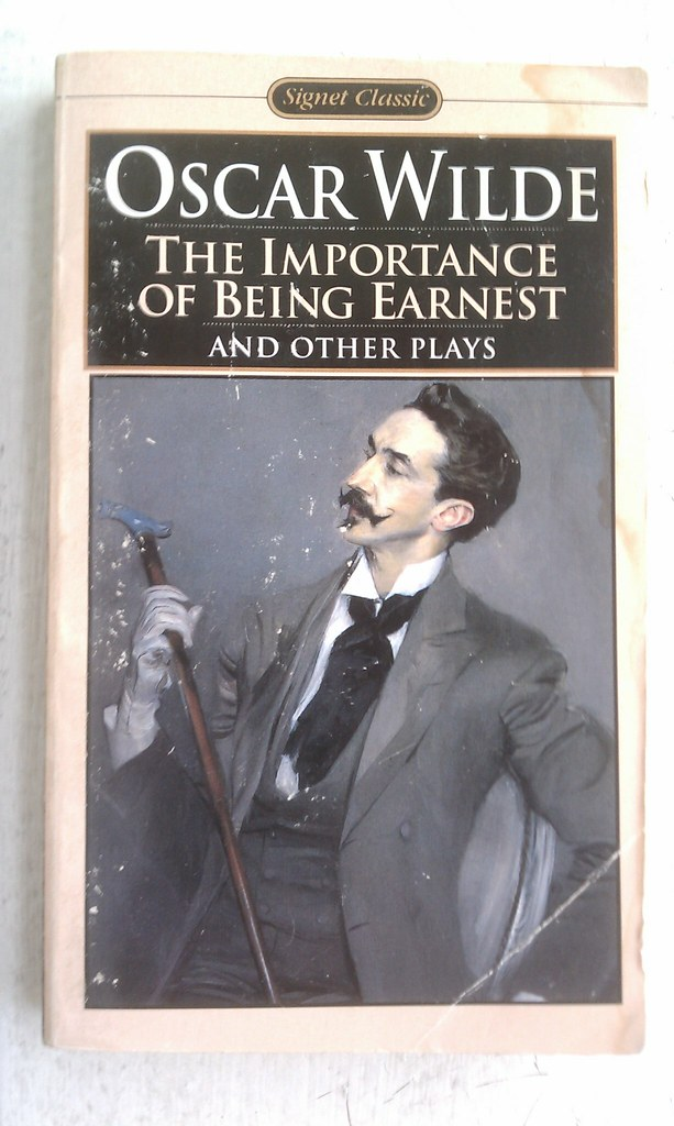 bunburning in the importance of being earnest a play by oscar wilde Synopsis: the importance of being earnest john worthing, a carefree young gentleman,  and the play ends with the two couples in a joyous embrace.