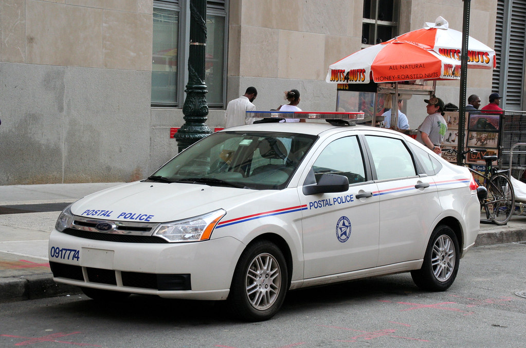 Us Postal Police Ford Focus I Think These Are Hilarious