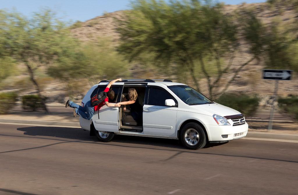 Mini Van Or Tactical School Extraction Insertion Vehicle