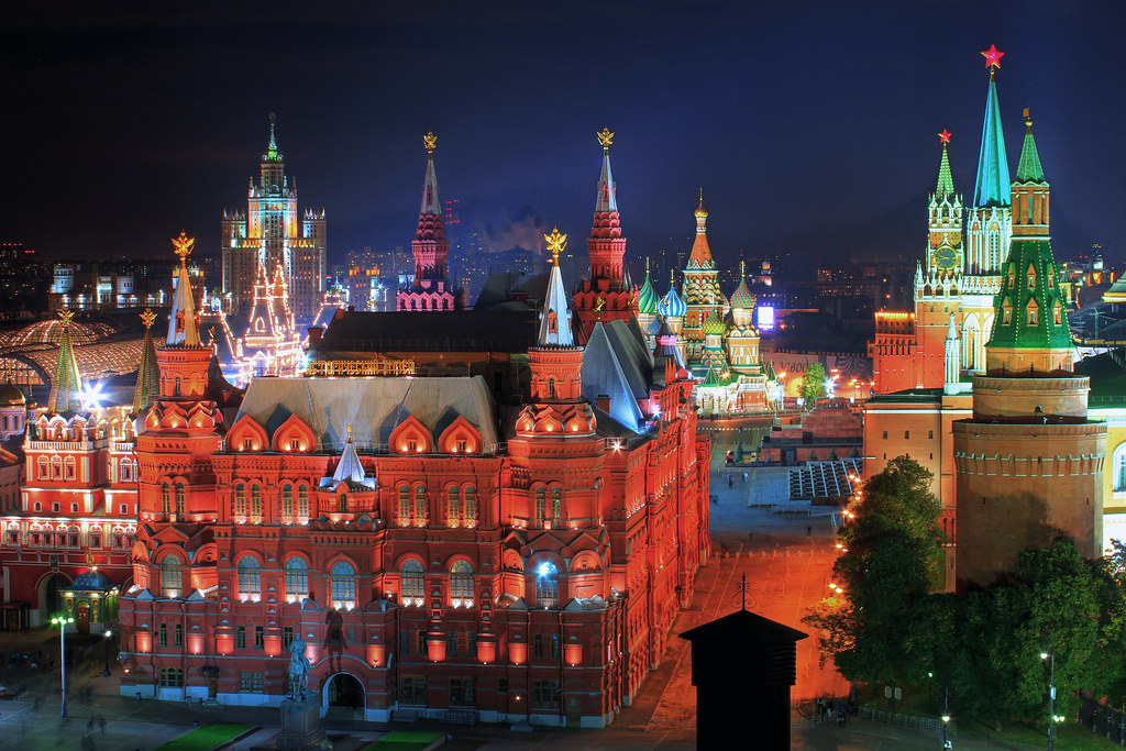 Moscow Russia  city photo : Heart of Moscow | Russia Russland Moscow Moskau night Nacht ...