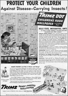 Disney DDT Wallpaper Advert (1947) | by JoeInSouthernCA
