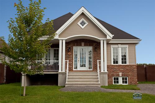 Maison neuve de type plain pied urbaine 0825 gbd for Type de maison neuve