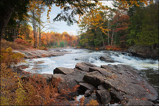 Fall at Oxtongue Rapids | by IgorLaptev