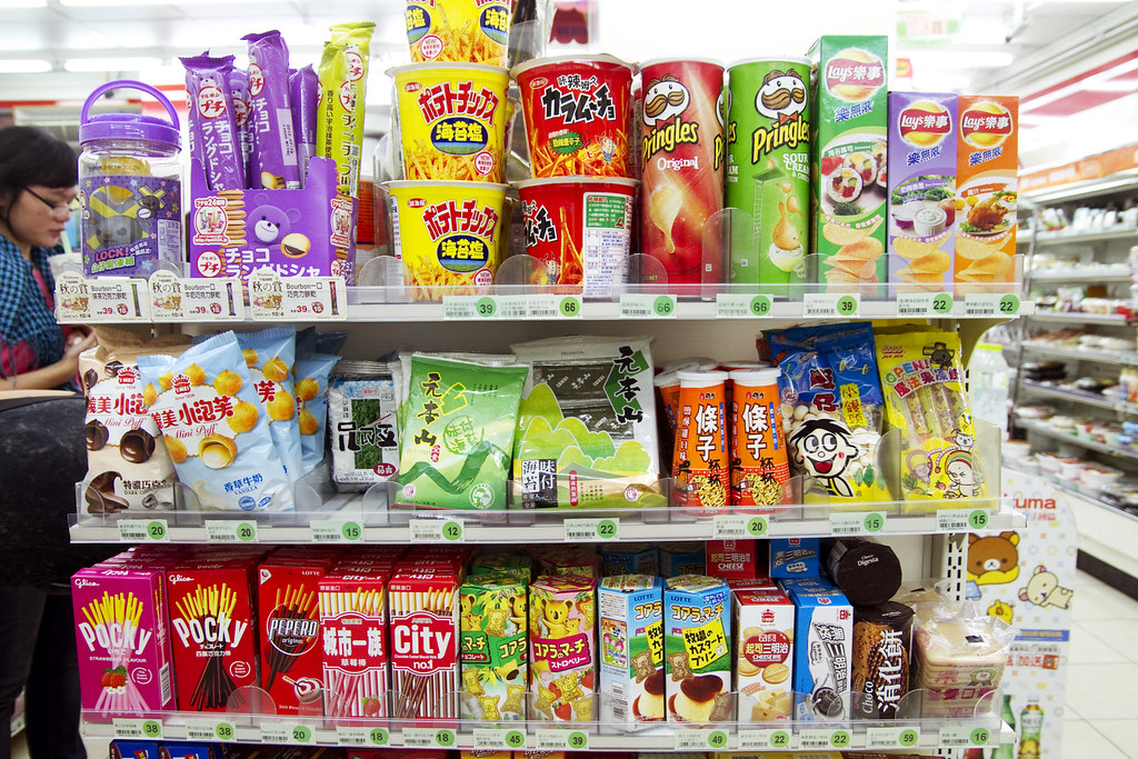 Snacks Ximending 7 11 In Taiwan Seems Way Cooler Than 7
