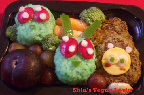 Happy Halloween! Happy Invader Zim Bento | by AikoVenus