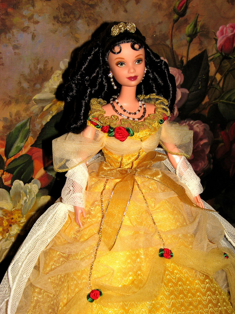 Image result for Beauty and the Beast BELLE Barbie on Broadway