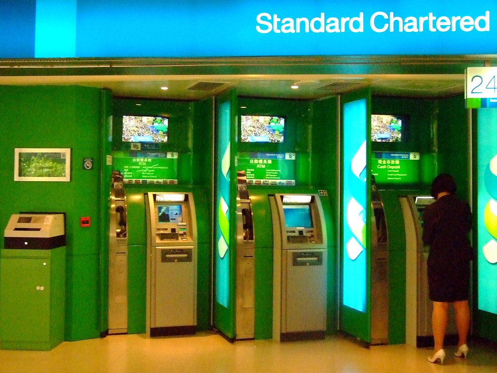 Standard Chartered Bank Atm Atm at Standard Chartered