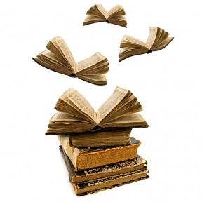 Flying books | techcrunch.com/2011/09/09/death-of-books ...