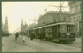 King William Street Trams | by City of Adelaide