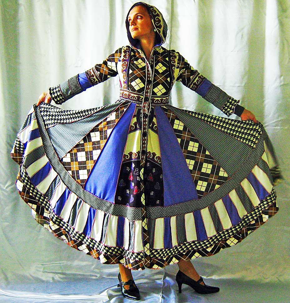 Gypsy Patchwork Sweater Wool Dress Boho Jacket Hippie Chic… | Flickr