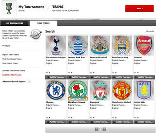 FIFA 12 Creation Centre: Use Licensed Teams | by EA SPORTS FIFA