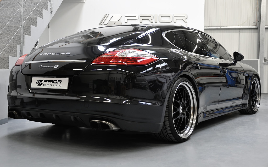 Porsche Panamera S With Prior Design Carbon Fiber Body Kit