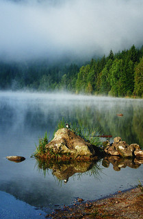 Mystery of the lake {My first photo on Explore} | by Janos Kerekes