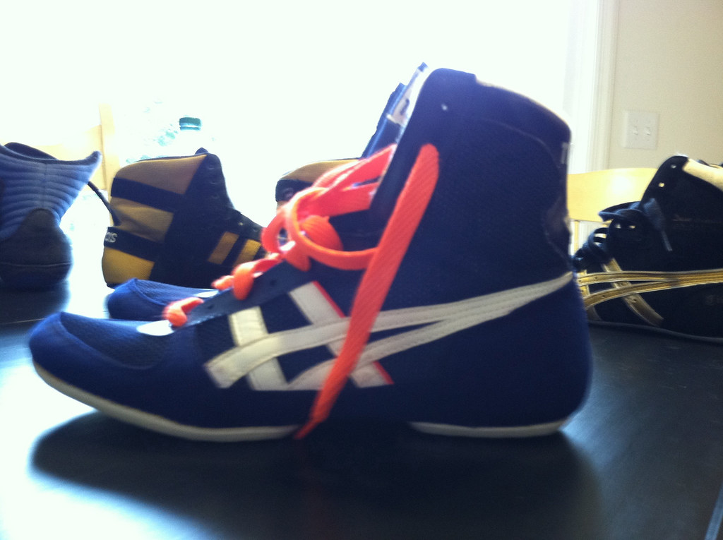 Asics Size  Wrestling Shoes