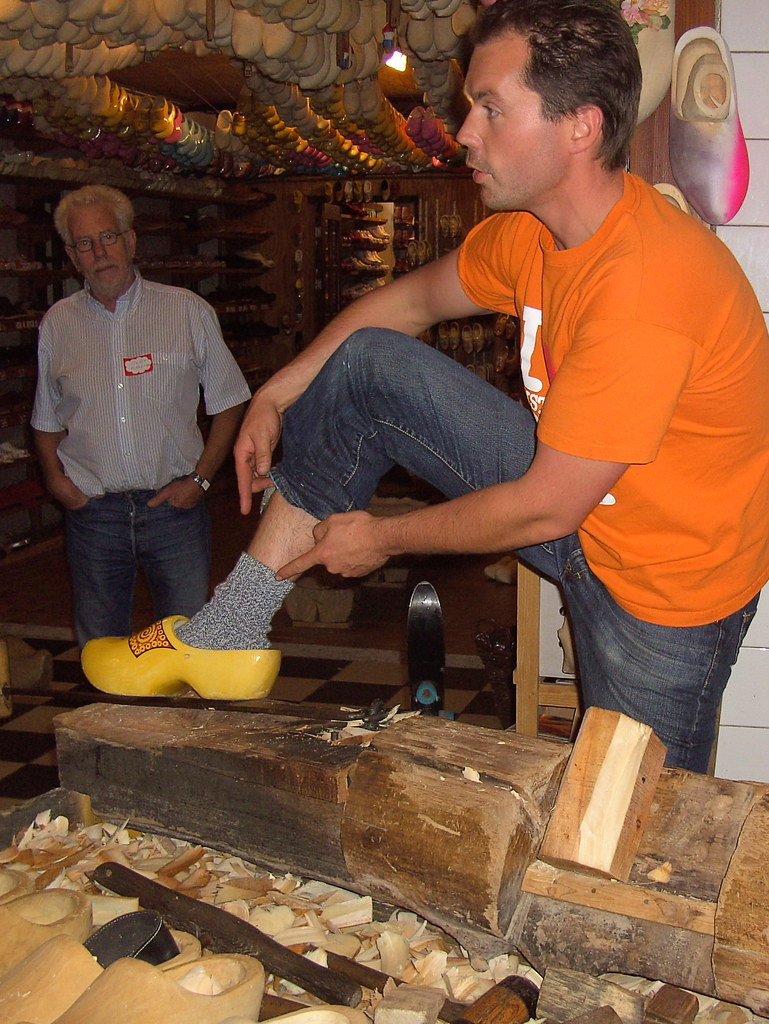 the ins and outs of wearing wooden shoes