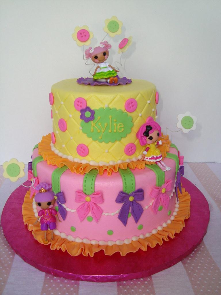 Lalaloopsy Sheet Cake