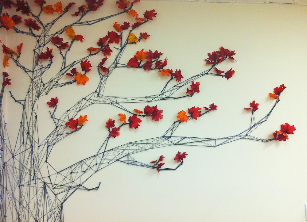 Yarn Tree Murals | Flickr