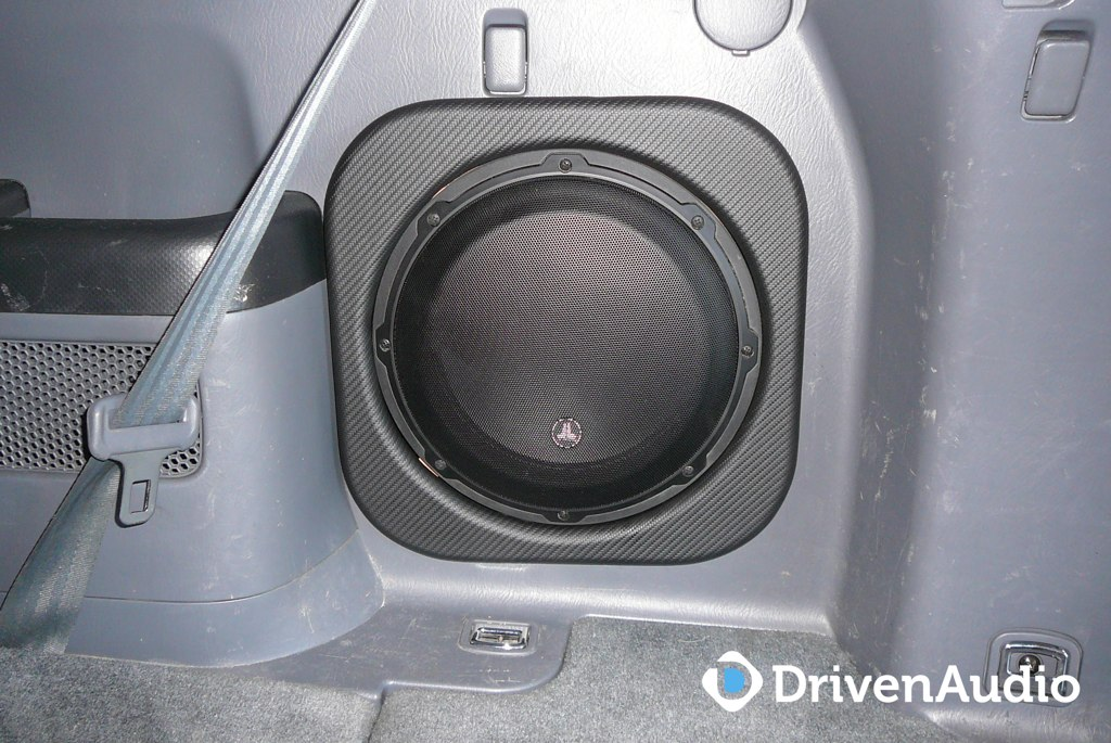 subwoofer installed honda pilot      flickr