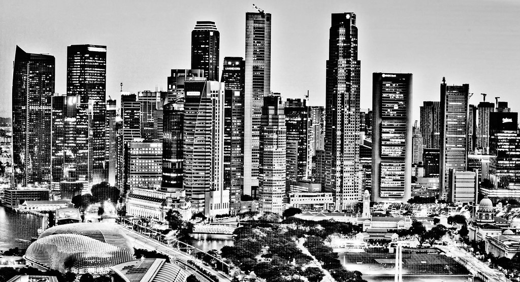 Black and white cbd singapore by paul cowell