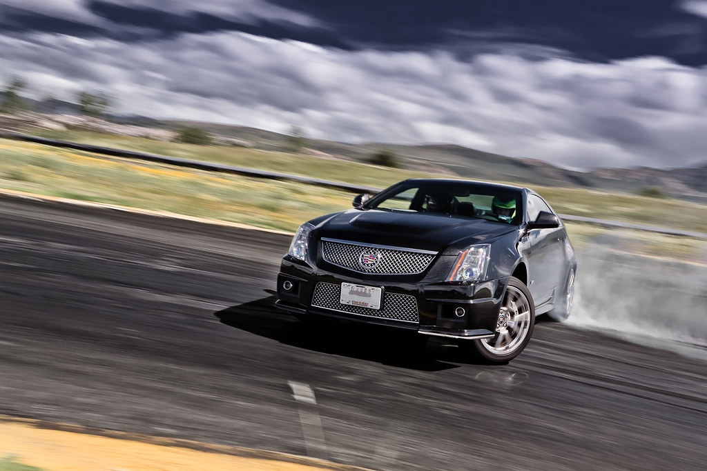 Cadillac Cts V Coupe Drifting Para For Www Autocosmos C Flickr