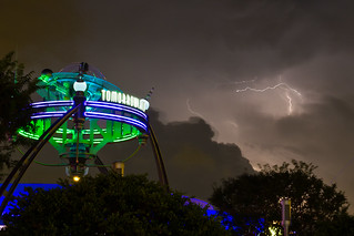 Magic Kingdom - Darkened Tomorrowland | by Jeff Krause Photography