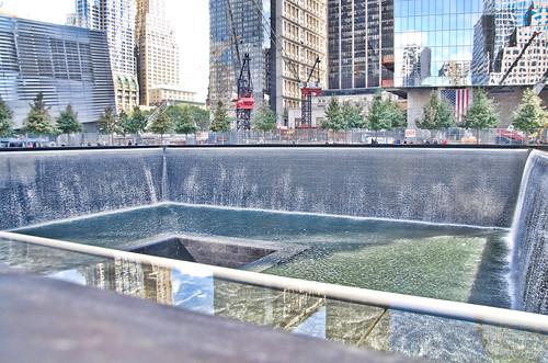 The reflecting pool at 9 11 memorial ground zero 7 flickr - Ground zero pools ...