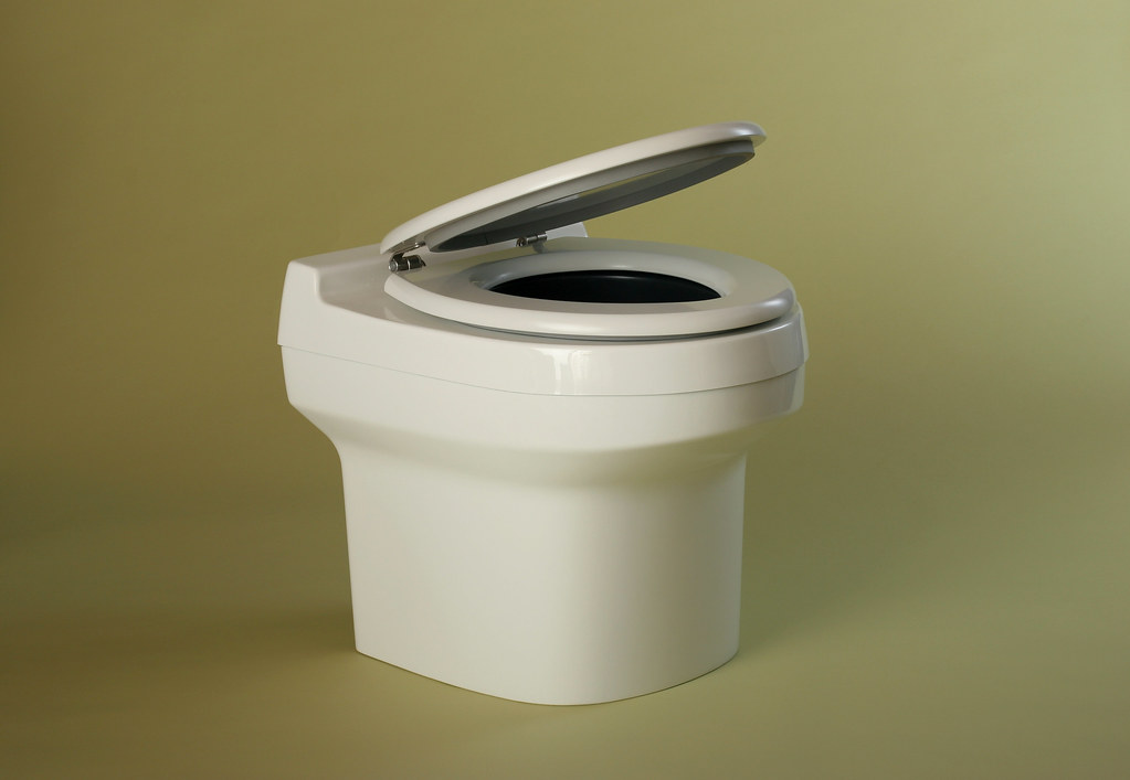 Dry Toilet Made Of Glas Fiber Reinforced Plastic For Conne