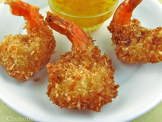 Coconut Shrimp with Orange Dipping Sauce | by CinnamonKitchn