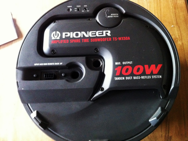 Lets Add Some Bass Shall We My Quot New Quot Pioneer Ts Wx50a