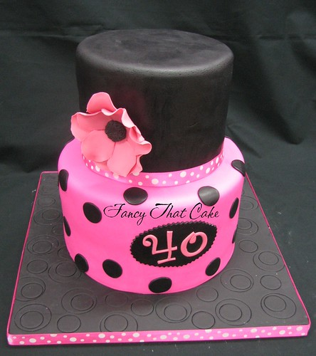 Nail Polish Bottle Cake: This Is For My Amazing Hairdresser And