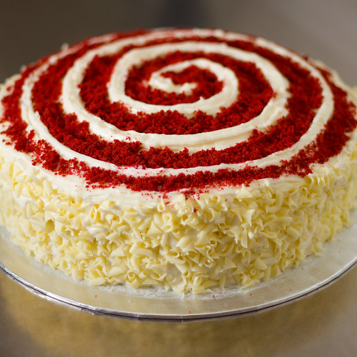Red Velvet Cake  Layer Bbc